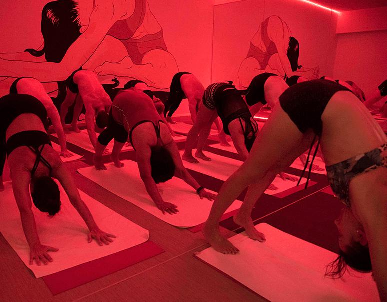 yoga en familia madrid