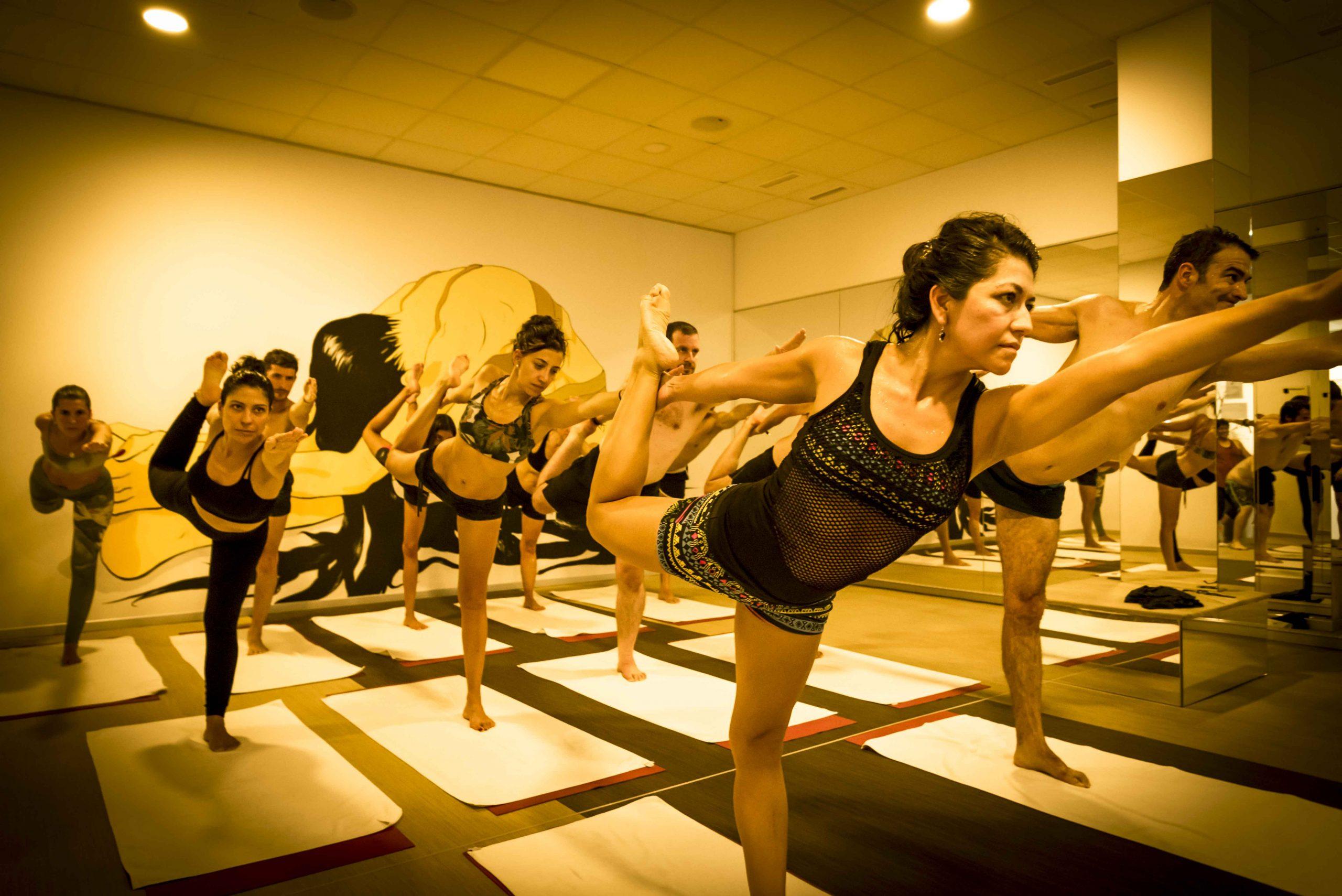 clases de bikram yoga