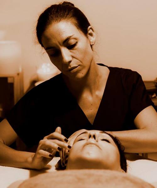 masaje facial reafirmante